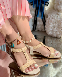 Sandale Cod: eda Beige