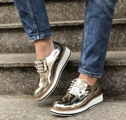 Pantofi Cod: 7A130 Golden