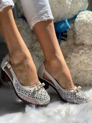 Pantofi Cod: D923-22 White