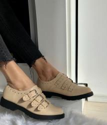 Pantofi Cod: FN365 Beige