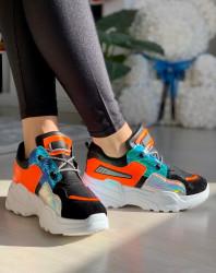 Pantofi sport cod: BK625 Black (S)