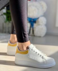Pantofi Sport Cod: SN-265 White/Yellow