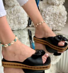 Papuci Dama cod: 555 Black