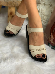 Sandale cod: 09-5 Beige