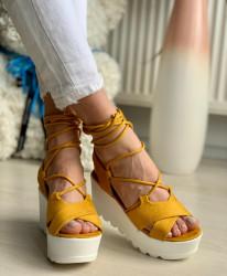 Sandale cod: Y631 YELLOW