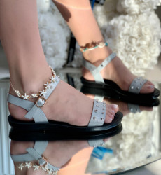 Sandale Dama Cod:107-1 Silver