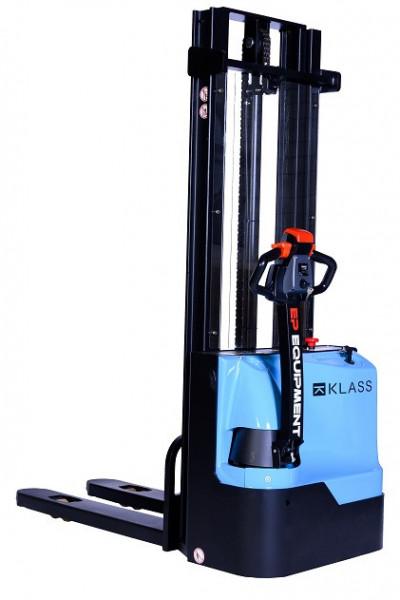 Poze ES 1542 Transpalet electric cu inaltime de ridicare 4.200 mm, capacitate 1.500 kg., baterie AGM fara intetinere, controler CURTIS