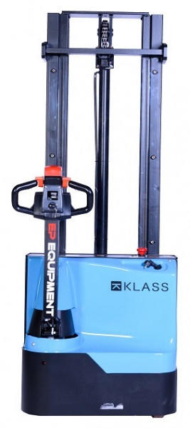 Poze ES1533 Transpalet electric cu inaltime de ridicare 3.300 mm, capacitate 1.500 kg., baterie AGM fara intetinere, controler CURTIS