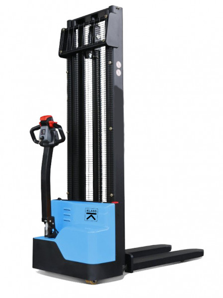Poze EST1227 Transpalet electric cu inaltime de ridicare 2.700 mm, capacitate 1.200 kg., baterie AGM fara intetinere, controler CURTIS