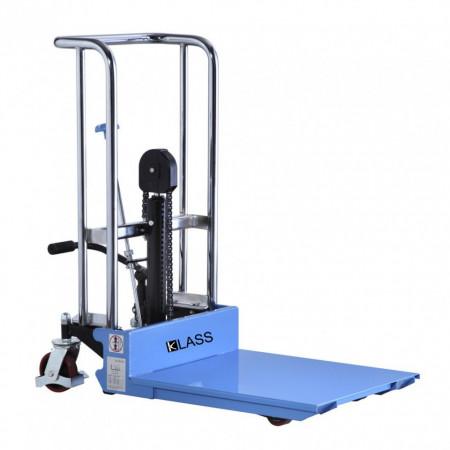 Poze PJ 4150 Ministivuitor manual, masa hidraulica cu inaltime de ridicare 1.500 mm si greutate de pina la 400 kg. ( 3 in 1 )