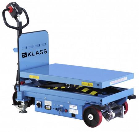 Poze EMT-1000S Masa hidraulica cu deplasare si ridicare electrica, capacitate maxima 1.000 kg., inaltime maxima 1.500 mm