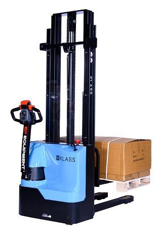 Poze ES 1533 Transpalet electric cu inaltime de ridicare 3.300 mm, capacitate 1.500 kg., baterie AGM fara intetinere, controler CURTIS