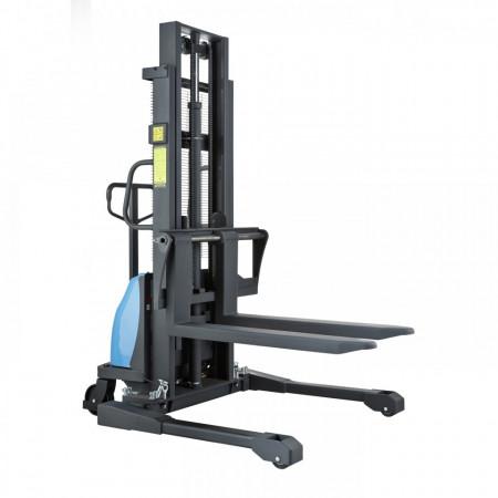 Poze BDA-S 1516 Stivuitor semi-electric, cu picioare reglabile, capacitate 1.500 kg., inaltime de ridcare pina la 1.600 mm ( 2.500, 3.000, 3500 sau 4.000 mm )