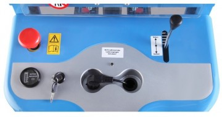 Poze SPM1016 Stivuitor semi-electric, uz intensiv, capacitate 1.000 kg., inaltime de ridcare 1.600 mm ( 2.500 sau 3.000 mm )