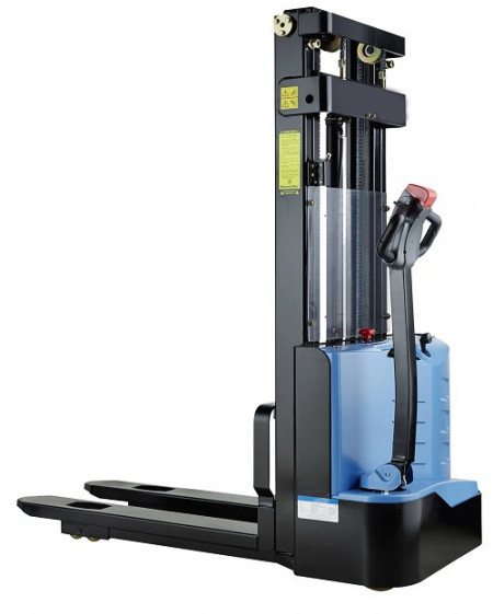 Poze ES 1238 Transpalet electric cu inaltime de ridicare 3.800 mm, capacitate 1.200 kg., baterie AGM fara intetinere, controler CURTIS