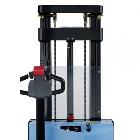 Poze QDA10E16 Stivuitor electric, capacitate 1.000 kg., inaltime de ridicare 1.600 mm ,controler CURTIS, AC