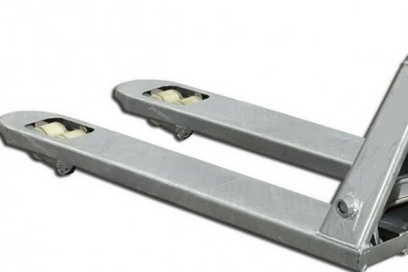 Poze SBA-G25 Transpaleta manuala, galvanizata, profesionala, 2,5 t