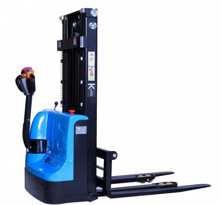 Poze CDD1525 Stivuitor electric, capacitate 1.500 kg., inaltime de ridicare 2.500 mm ,furci reglabile, controler CURTIS