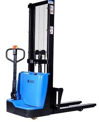 Poze QDA10EL16 Transpalet electric cu inaltime de ridicare 1.600 mm, capacitate 1.000 kg., baterie AGM fara intetinere, controler CURTIS