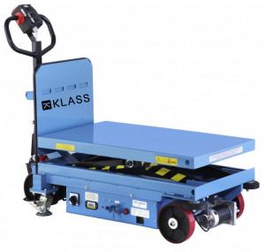 EMT-1000S Masa hidraulica cu deplasare si ridicare electrica, capacitate maxima 1.000 kg., inaltime maxima 1.500 mm