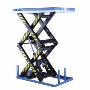 DGS1001 Masa hidraulica fixa, inaltime mare de ridicare 1.780 mm, capacitate de ridicare 1.000 kg.