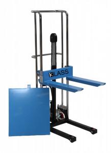 PJ4150 Ministivuitor manual, masa hidraulica cu inaltime de ridicare 1.500 mm si greutate de pina la 400 kg. ( 3 in 1 )