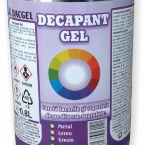 Decapant gel pentru vopsea DacGel, 800 ml