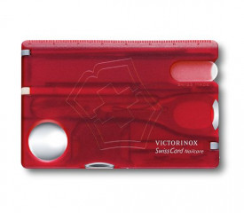 Card multifunctional Swisscard Nailcare Victorinox