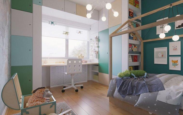 Idei pentru amenajarea camerei copilului- Masca calorifer