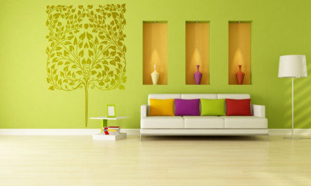 Poze STICKER GOLD TREE