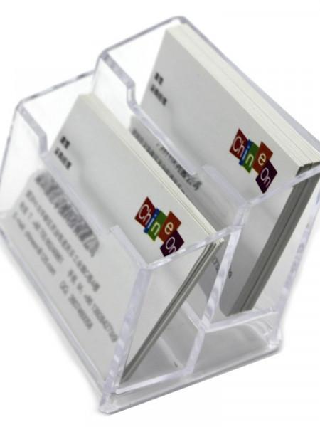 Poze SUPORT CARTI DE VIZITA - DOUA COMPARTIMENTE
