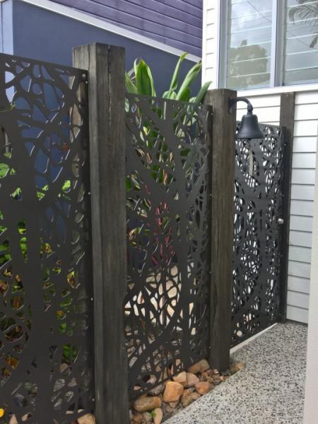 Poze Gard metalic traforat NEW VISION