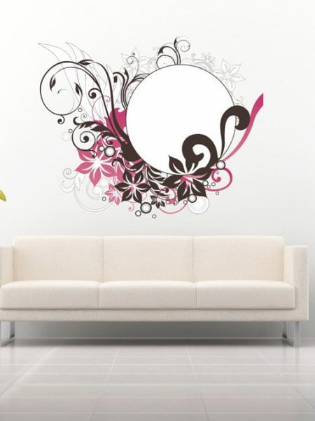 STICKER PURPLE FLOWER