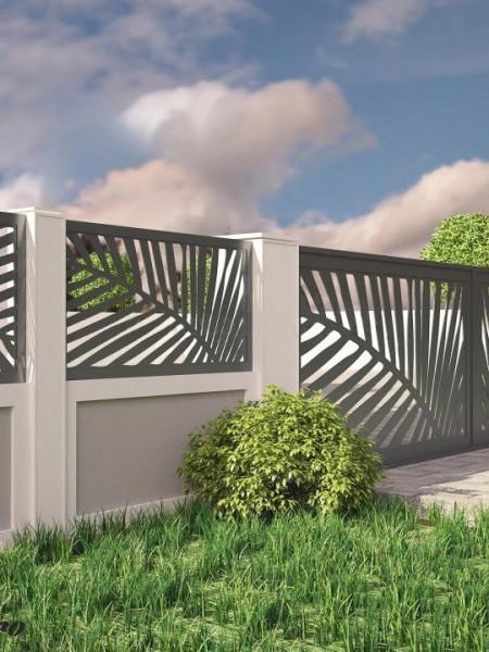 Poze Gard metalic PALMIER