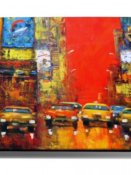 Poze TABLOU NYC TRAFFIC CARS