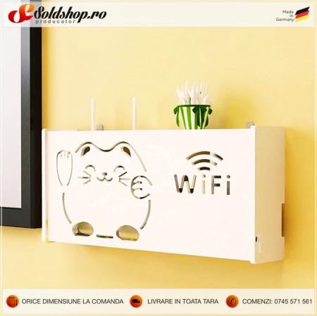 Masca pentru Router - Cat ( wifi )