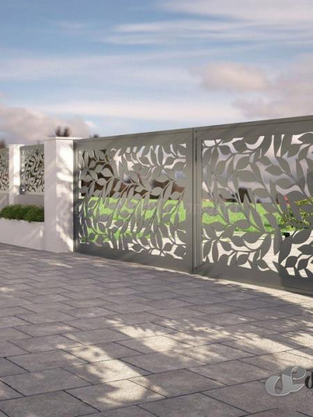 Poze Gard metalic FRUNZE