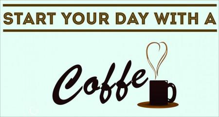 Poze STICKER COFFE TIME