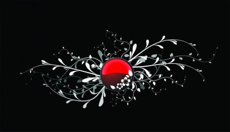 Poze STICKER RUBIN FLOWER