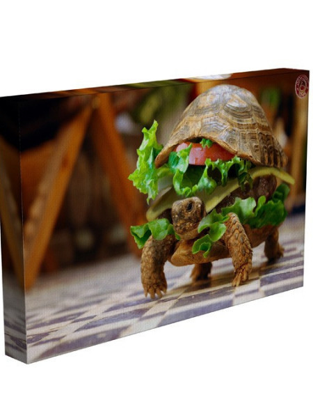 TABLOU SANDWICH WITH TURTLE