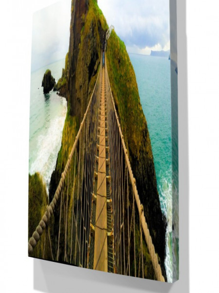 TABLOU DANGEROUS BRIDGE