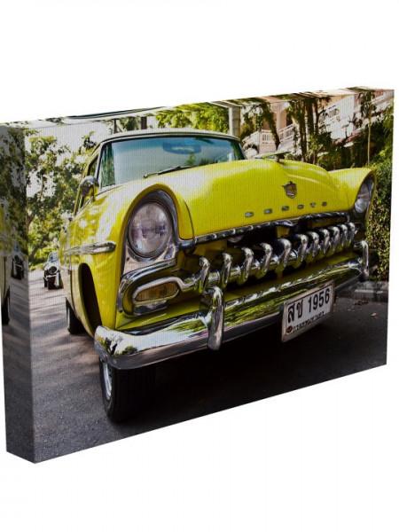 TABLOU YELLOW CAR