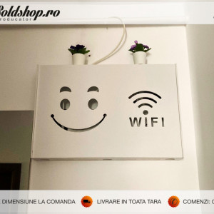 Masca pentru router wireless - BIG Smile WI-FI