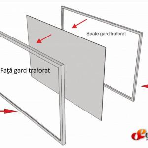 Gard metalic decupat , IFUEX