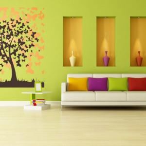 STICKER BUTTERFLY - TREE