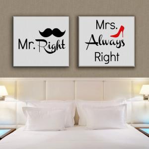 TABLOU MR. RIGHT