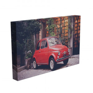 TABLOU RED CAR