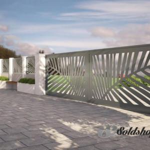Gard metalic PALMIER