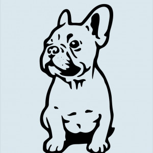 STICKER BULLDOG 2