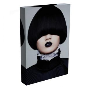 TABLOU BLACK LIPS